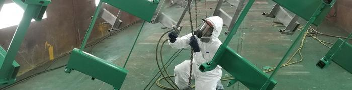 Painting Hayes Manufacturing - pineville, la